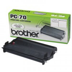 Brother Fax Cassette Including Ribbon for T74/T76 Code PC-70