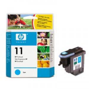 Hewlett Packard [HP] No. 11 Inkjet Printhead Page Life 24000pp Cyan Ref C4811AE