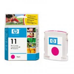 Hewlett Packard [HP] No. 11 Inkjet Cartridge Page Life 1750pp 28ml Magenta Ref C4837A