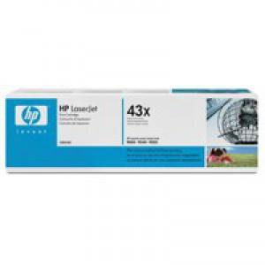 Hewlett Packard [HP] No. 43X Laser Toner Cartridge Page Life 30000pp Black Ref C8543X