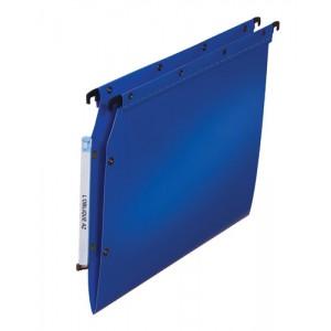 Elba Ultimate Polypro Lateral File Polypropylene 330mm V-Base A4 Blue Ref 100330583 [Pack 25]