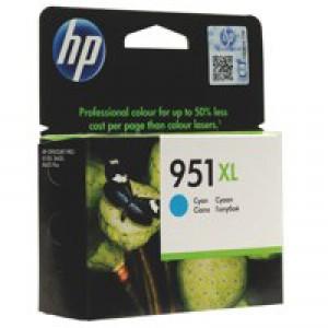 HP No.951XL Officejet Ink Cartridge Cyan Code CN046AE