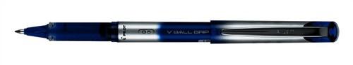 Pilot VBall VB5 Rollerball Pen with Rubber Grip 0.5mm Tip 0.3mm Line Blue Ref BLNVBG5 03 [Pack 12]