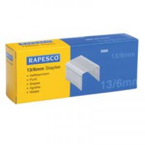 Rapesco Tacker Staples 13/6 Ref S13060Z3 [Pack 5000]