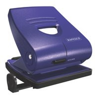 Rapesco 827P Punch 2-Hole ABS-top Capacity 30x 80gsm Blue Ref PF827PL2
