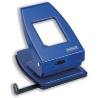 Rapesco 835 Heavy Duty 2-Hole Perforator Blue PF800AL1
