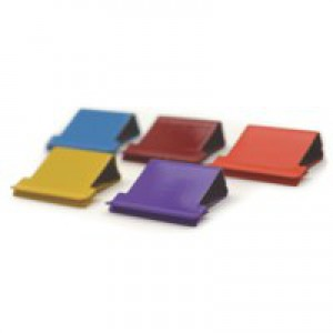 Rapesco Supaclip 40 Refill Clips for 40 Sheets of 80gsm Multicoloured Ref CP15040M [Pack 150]