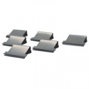 Rapesco Supaclip 60 Refill Clips for 60 Sheets of 80gsm Stainless Steel Ref CP10060S [Pack 100]