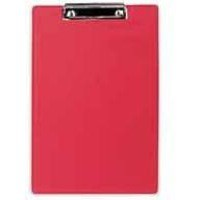 Image for Rapesco Standard Clipboard with Pen Holder Foolscap Red Ref VSTCB0R3