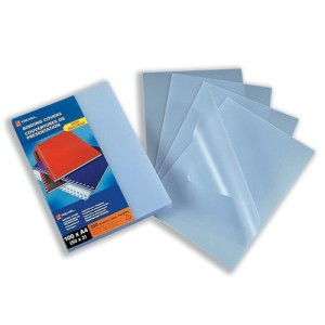 GBC Binding Covers Polypropylene Recyclable 200 micron A4 Frosted Ref 210056E [Pack 100]