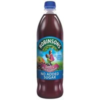 Robinsons Special R Squash No Added Sugar 1 Litre Apple and Blackcurrant Ref A02045 [Pack 12]
