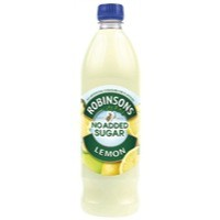 Robinsons Whole Lemon Squash Concentrated Low Calorie 1 Litre
