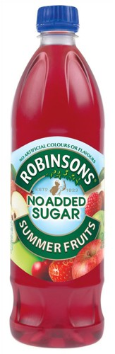 Robinsons Special R Squash No Added Sugar 1 Litre Summer Fruits Ref A02105 [Pack 12]