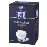 Tate and Lyle White Sugar Cubes Rough-Cut 1 Kg Code A03902