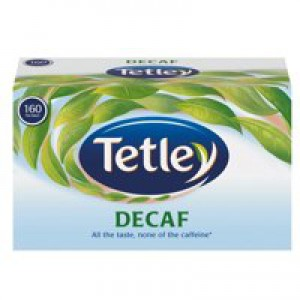 Tetley Tea Bags Decaffeinated High Quality Ref 5001E [Pack 160]