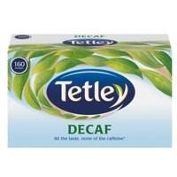Tetley Tea Bags Decaffeinated High Quality Pack 160 Code A06070