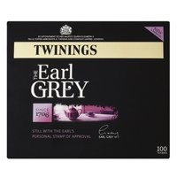 Twinings Tea Bags Earl Grey Fine High Quality Aromatic Pack 100 Code A00801