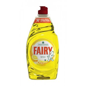 Fairy Liquid for Washing-up Lemon 450ml Ref Y03575 [Pack 2]