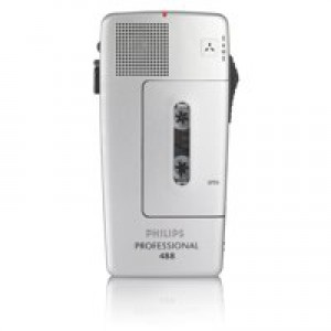 Philips 488 Analogue Pocket Memo Rechargeable REC/BATT Audible Warning Ref LFH0488-00