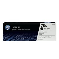 HP 78A Toner Cartridge Black Pk2 CE278AD