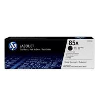 HP 85A Toner Cartridge Black Pk2 CE285AD