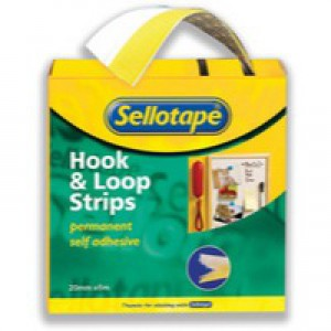 S/tape Sticky Hoop Loop Strip  4545