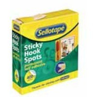 Sellotape Sticky Hook Spots 400 Spots Diameter 22mm Ref 1445175