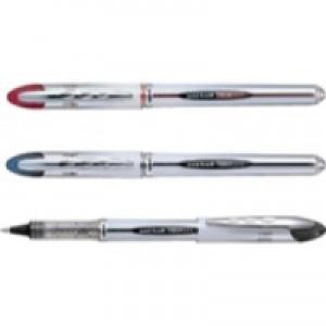 Uni-ball UB200 Vision Elite Rollerball Pen 0.8mm Tip 0.6mm Line Black Ref 9007000 [Pack 12]
