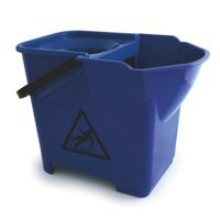Bentley Colour Coded Mop Bucket Heavy Duty 16 Litre Capacity Blue Code SPCMB16B