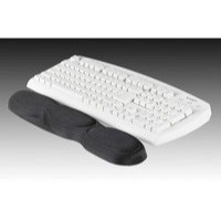 Image for Acco Kensington Foam Wrist Rest Black 62383