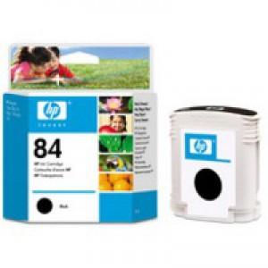 HP No.84 Dye Based Ink Cartridge 69ml Black Code C5016A
