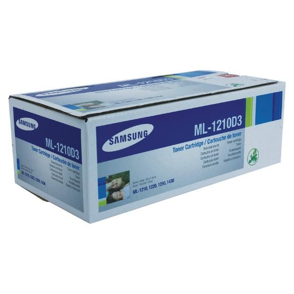 Samsung Laser Toner Cartridge Page Life 2500pp Black Ref ML1210D3/ELS