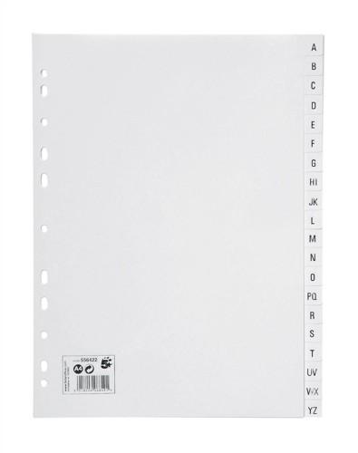 5 Star Office A4 A-Z PlyprpIndex(33095X)