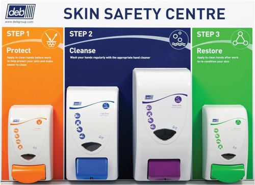 DEB Safety Skin Centre Protect Cleanse Restore Light & Heavy Duty Wash Code SSCLGE1EN