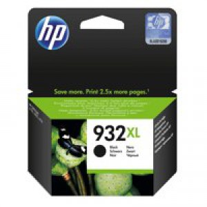 Hewlett Packard [HP] No.932XL Inkjet Cartridge Page Life 1000pp Black Ref CN053AE