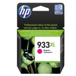 Hewlett Packard [HP] No.933XL Inkjet Cartridge Page Life 825pp Magenta Ref CN055AE