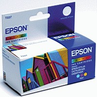 Epson Stylus C42 Inkjet Cartridge Colour 25ml C13T037040