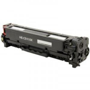 Hewlett Packard [HP] No. 305X Laser Toner Cartridge High Yield Page Life 4000pp Black Ref CE410X