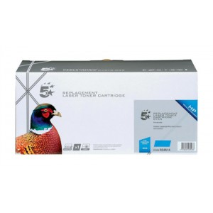 5 Star Compatible Laser Toner Cartridge Page Life 2600pp Cyan [HP No. 305A CE411A Alternative]