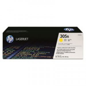 HP No.305A Yellow Laserjet Toner Cartridge Code CE412A