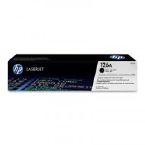 HP No.126A Toner Cartridge Black Twin Pack Code CE310AD