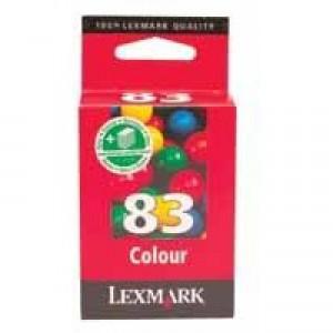Lexmark No. 83 Inkjet Cartridge Page Life 285pp Colour Ref 18LX042