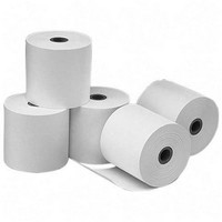 Credit Card Rolls Thermal 1-ply 57x55x12.7mm Length 37m White Ref TH352 [Pack 20]