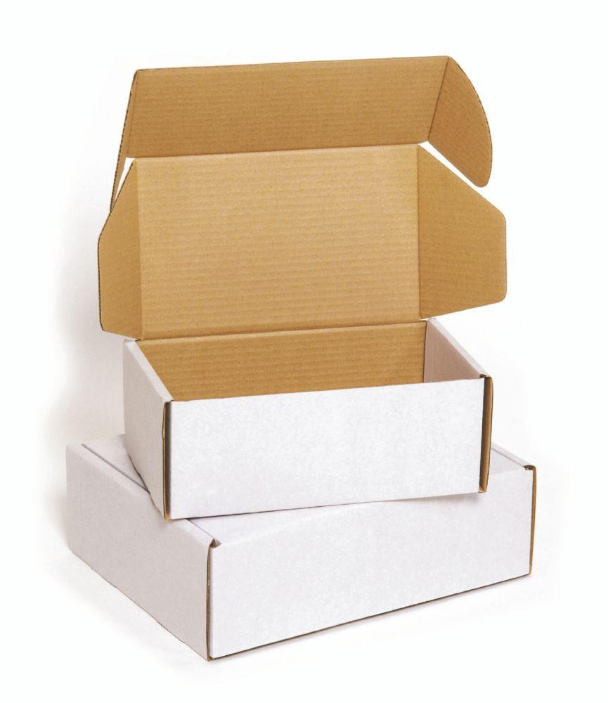 Postal Box 0427 Mottled White Postal Box 305 x 240 x 100mm