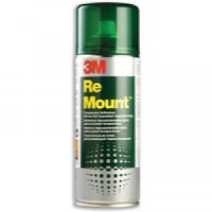 3M Scotch Remount Adhesive 200ml Spray Can Code RMOUNT