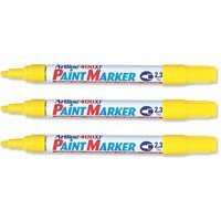 Artline 400 Paint Marker Medium Bullet Tip Yellow A4006