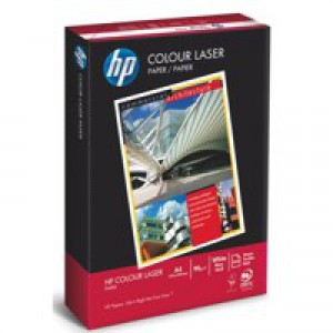 Hewlett Packard [HP] Colour Laser Paper Smooth Ream-Wrapped 90gsm A4 White Ref HCL0321 [500 Sheets]