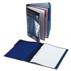 Rexel Tranz File 5-Part Polypropylene with Colour-coded Indexed Sections A4 Translucent Ref 2100593