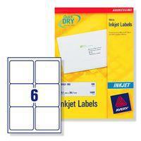 Avery Labels Address Inkjet Wht J8166-25