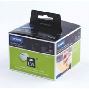 Dymo Address Label Large 36x89mm Clear Pack 260 Code S0722410